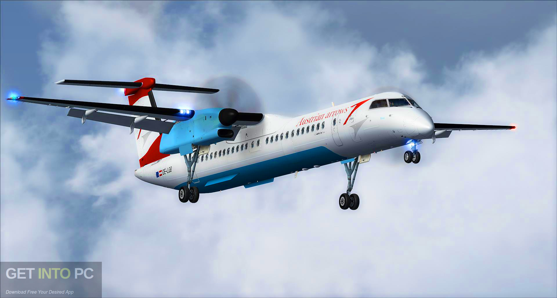 Majestic MJC8 Q400 Pro Edition (Aircraft) for Flight Simulator Offline Installer Download-GetintoPC.com