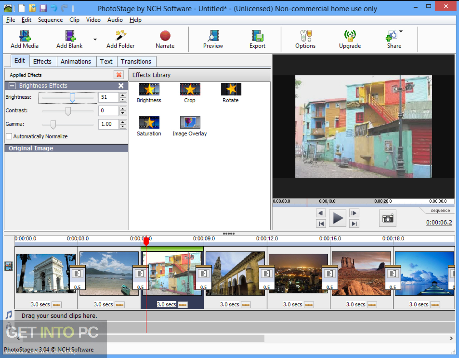 NCH PhotoStage Slideshow Producer Professional Latest Version Download-GetintoPC.com
