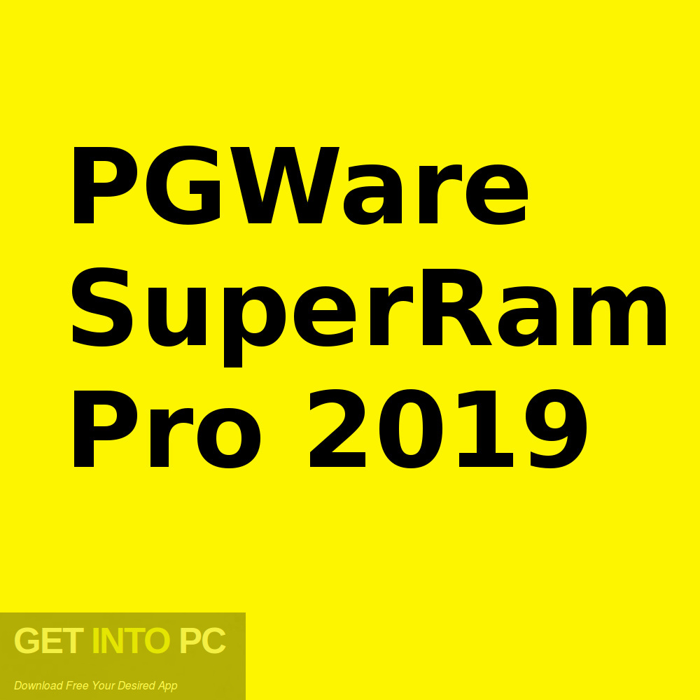 PGWare SuperRam Pro 2019 Free Download-GetintoPC.com