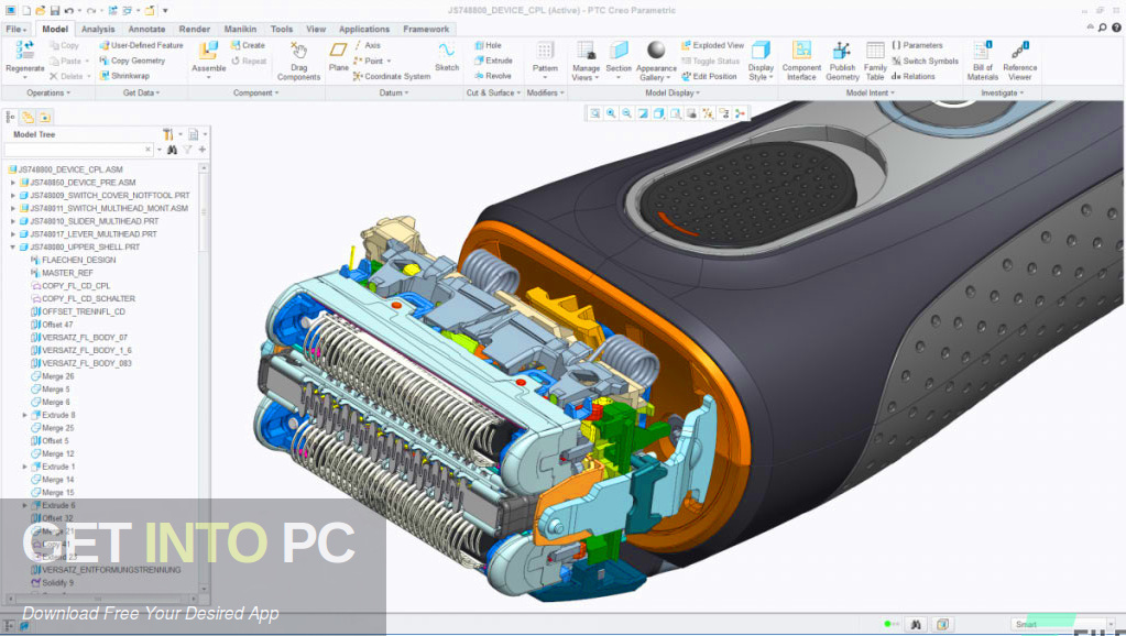 PTC Creo 4.0 M100 + HelpCenter Offline Installer Download-GetintoPC.com
