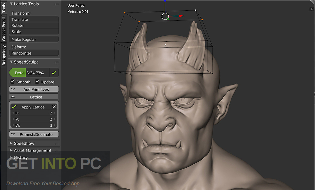 SpeedSculpt for Blender Latest Version Download-GetintoPC.com