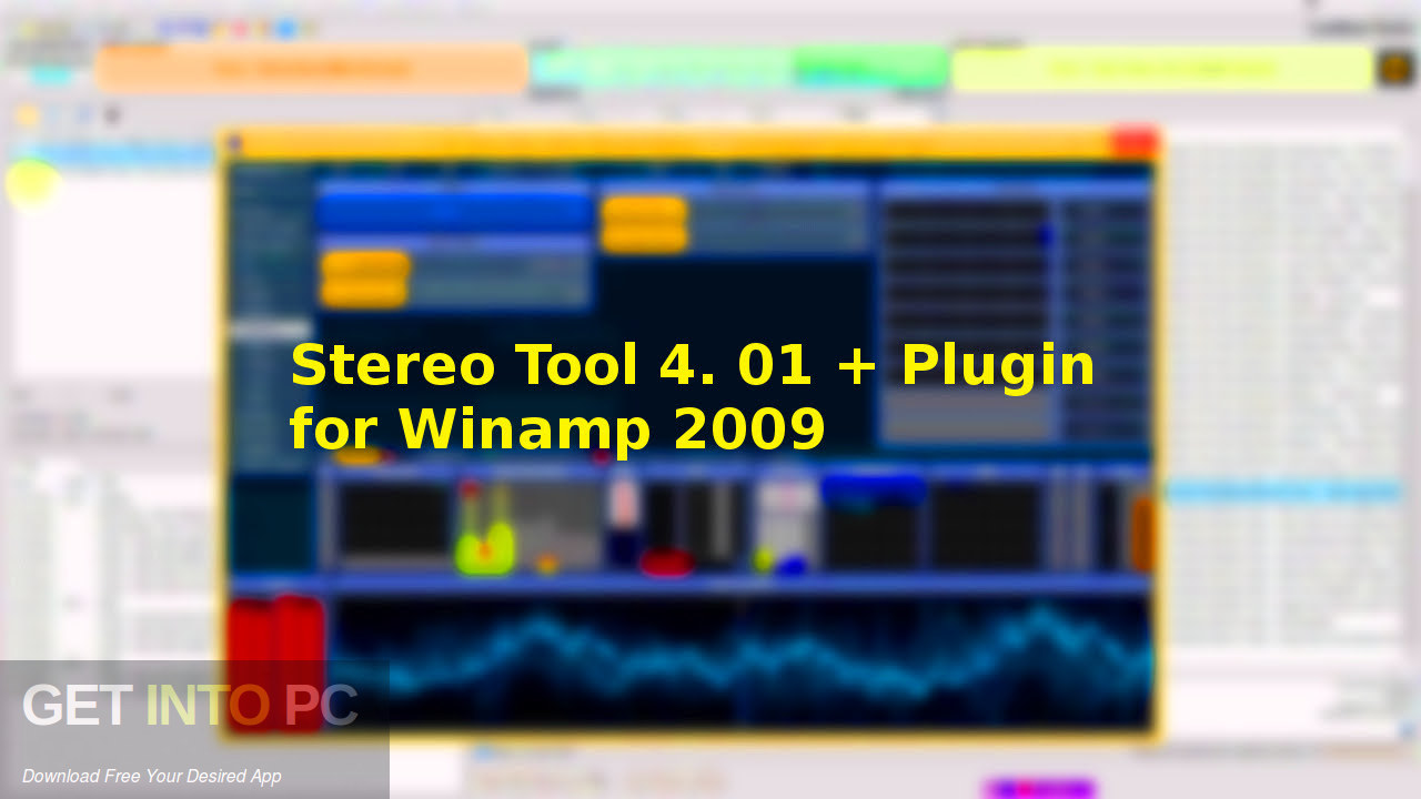 Stereo Tool 4. 01 + Plugin for Winamp 2009 Free Download-GetintoPC.com