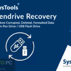 SysTools Pen Drive Recovery 2019 Free Download-GetintoPC.com
