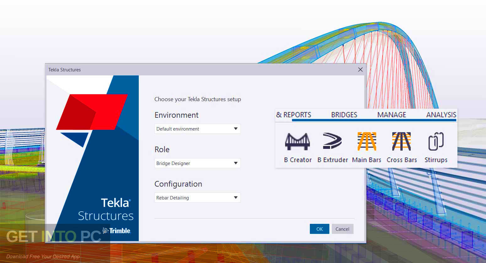 Tekla Structures 2019 SR1 + Environments Latest Version Download-GetintoPC.com
