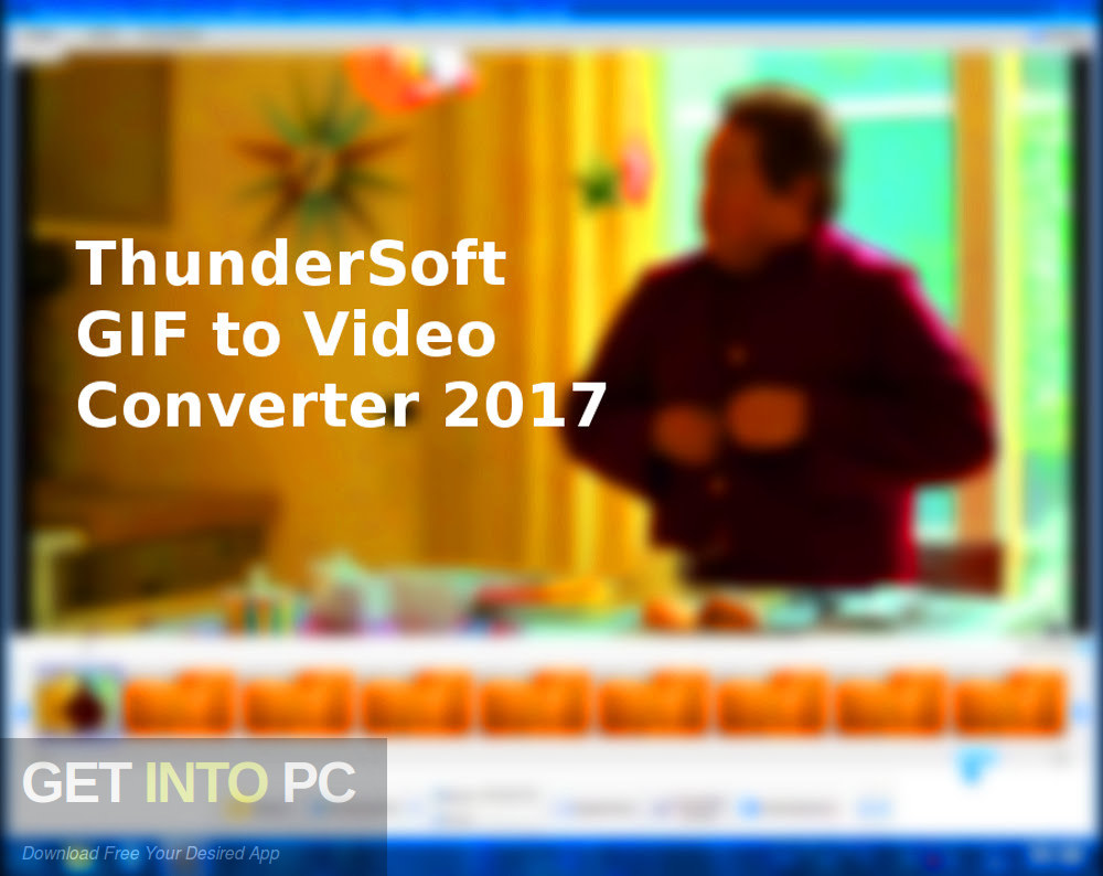 ThunderSoft GIF to Video Converter 2017 Free Download-GetintoPC.com