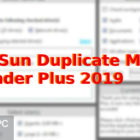 TriSun Duplicate MP3 Finder Plus 2019 Free Download-GetintoPC.com
