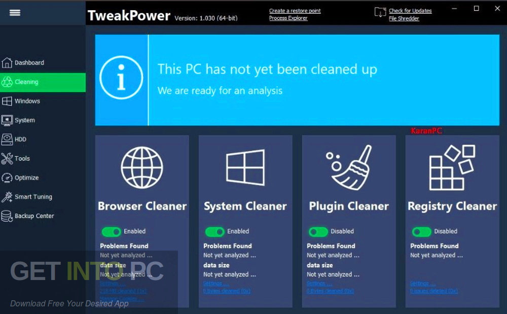 TweakPower 2019 Direct Link Download-GetintoPC.com