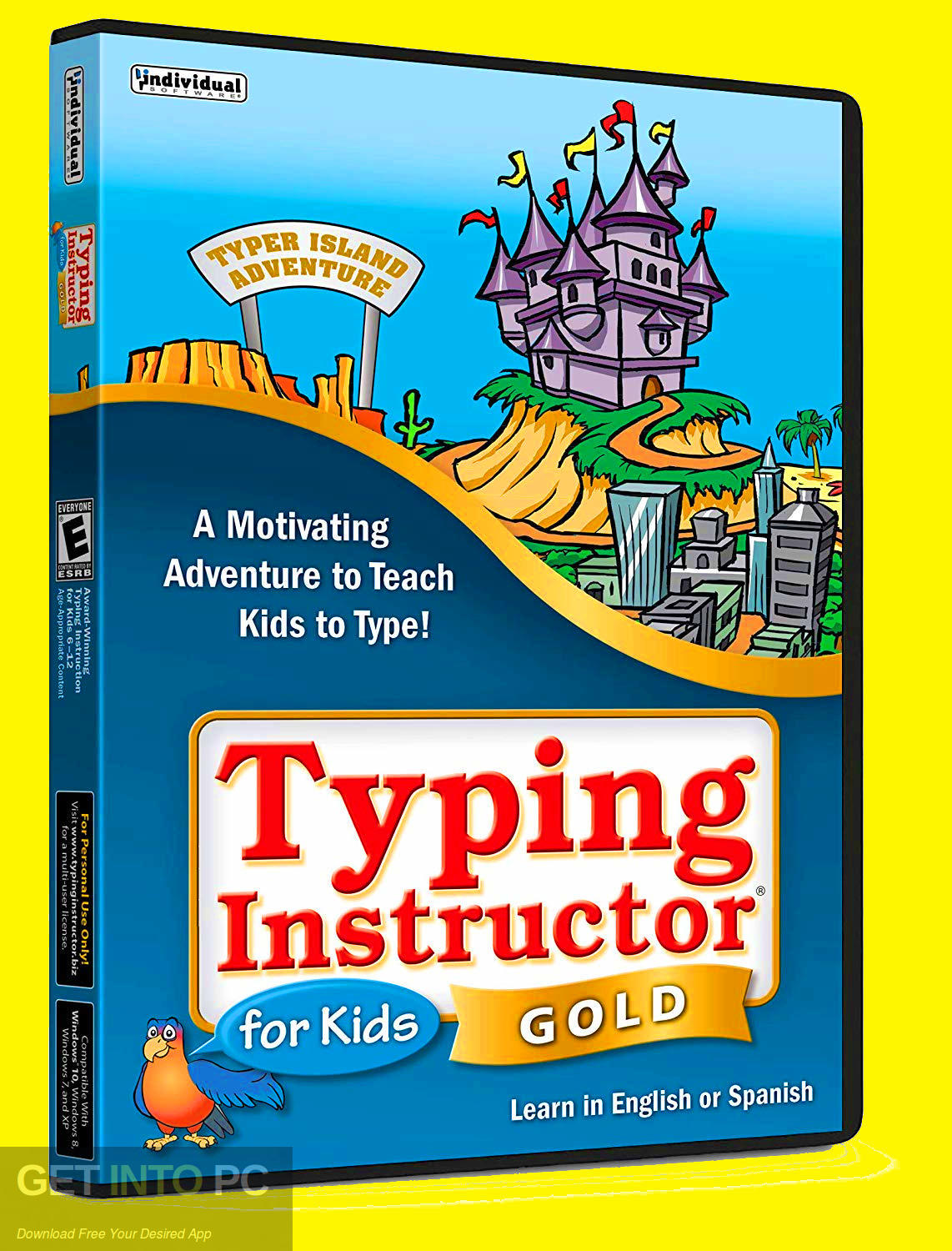 Typing Instructor for Kids Gold Edition 2019 Free Download-GetintoPC.com
