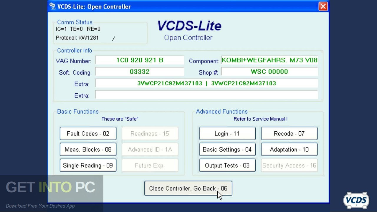 VAG-COM 908 VCDS Car Diagnostic Software Direct Link Download-GetintoPC.com