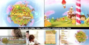 VideoHive Kids TV Show Pack for After Effects Direct Link Download-GetintoPC.com