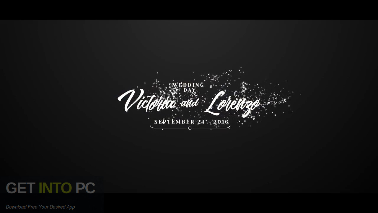 VideoHive - Wedding for After Effects Latest Version Download-GetintoPC.com