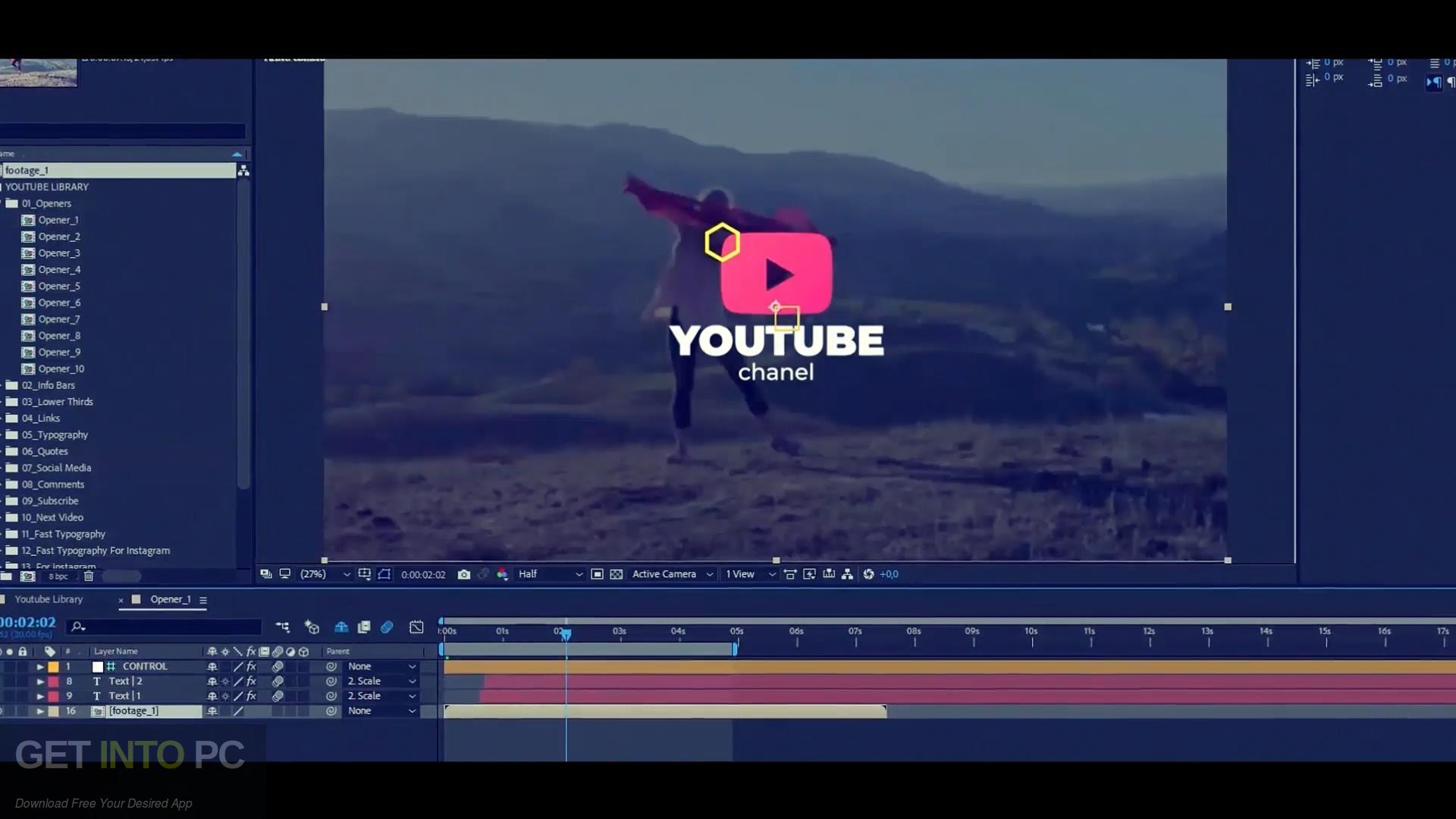 VideoHive Youtube Subscribe Like Follow Reminder Free Download