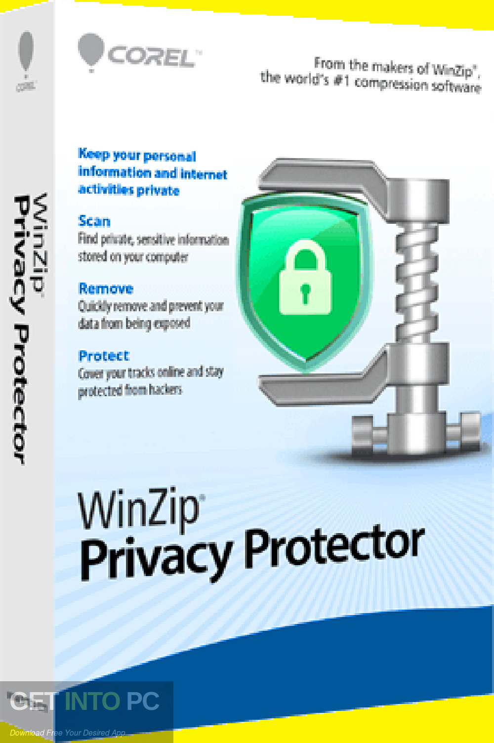 WinZip Privacy Protector Premium 2019 Free Download-GetintoPC.com