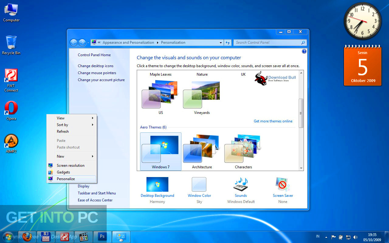 Windows 7 Ultimate 32 64 Bit Multilingual Updated Aug 2019 Offline Installer Download-GetintoPC.com