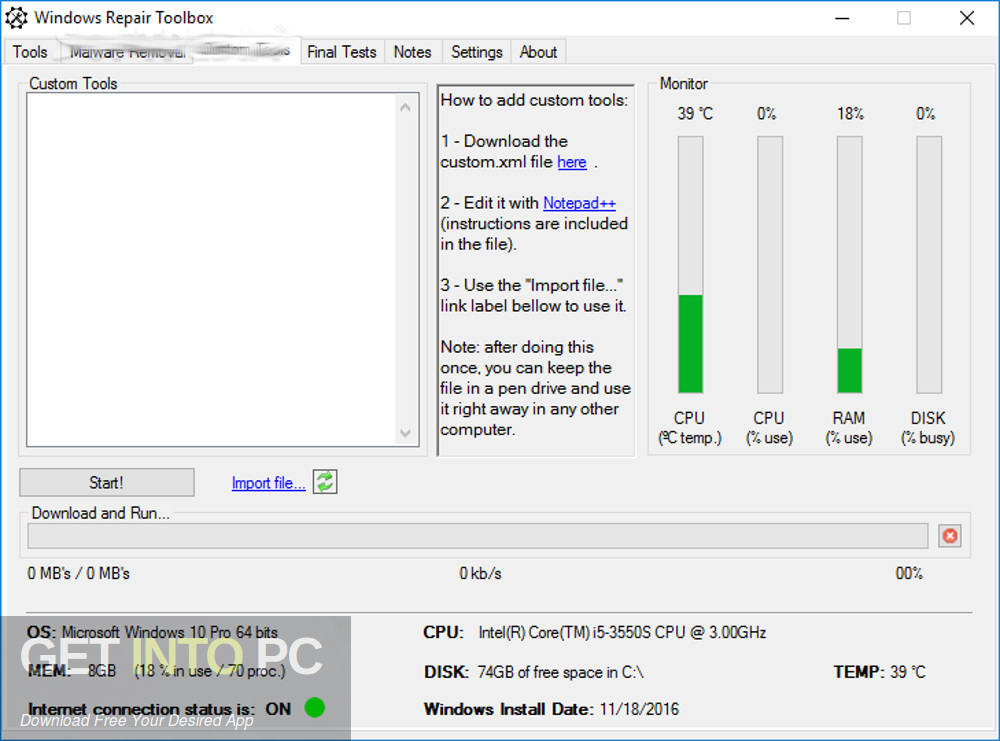Windows Repair Toolbox 2019 Offline Installer Download-GetintoPC.com