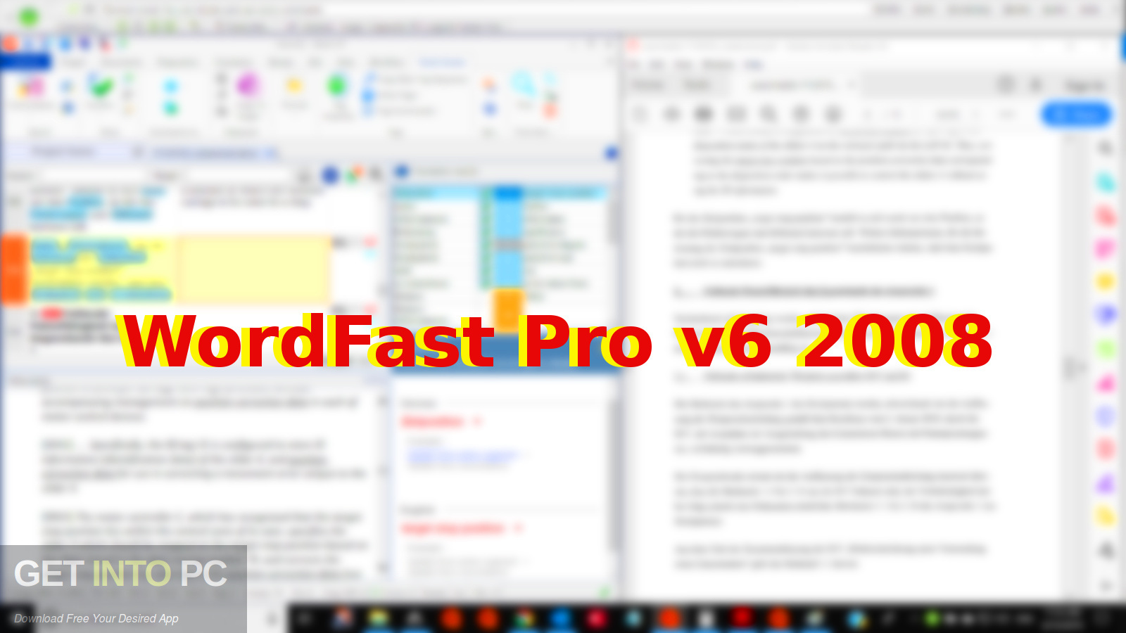 WordFast Pro v6 2008 Free Download-GetintoPC.com