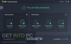 AVG Internet Security 2019 Free Download-GetintoPC.com