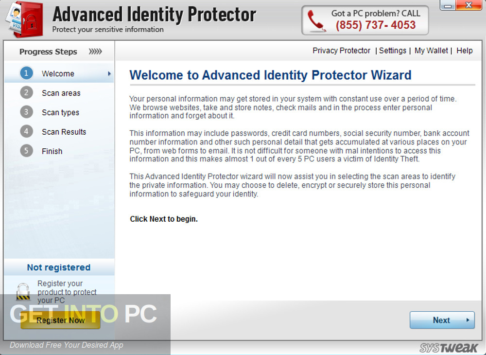 Advanced Identity Protector Latest Version Download-GetintoPC.com