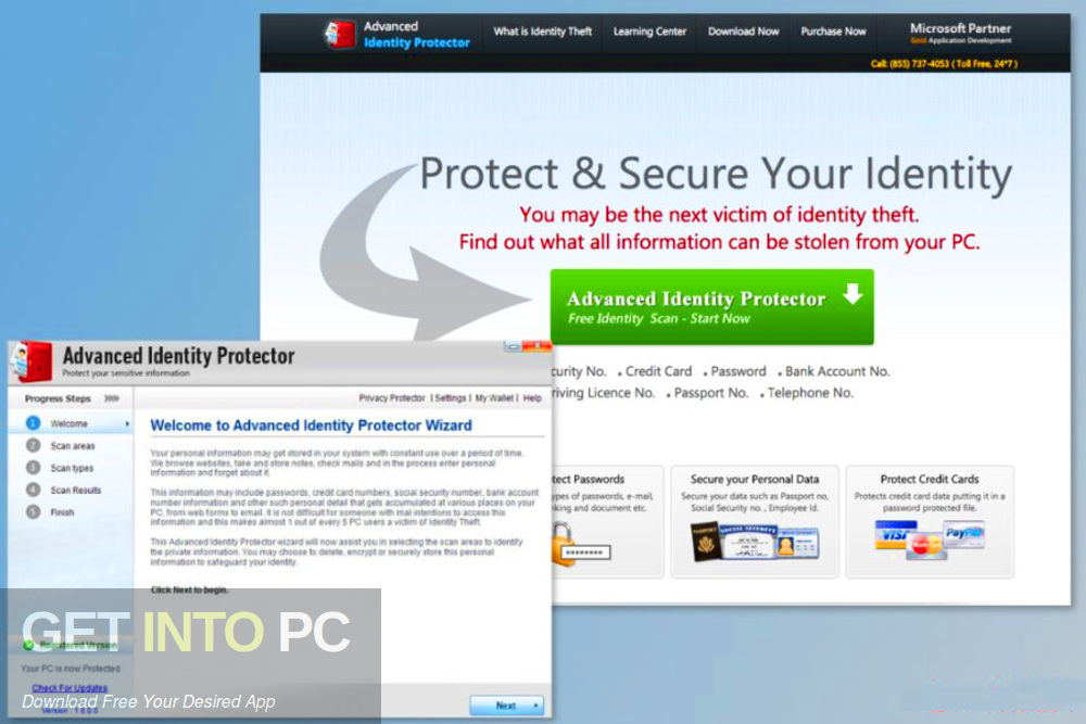 Advanced Identity Protector Offline Installer Download-GetintoPC.com