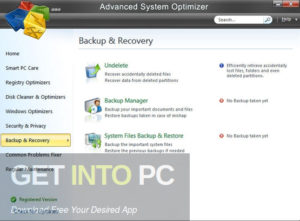 Advanced System Optimizer Free Download-GetintoPC.com