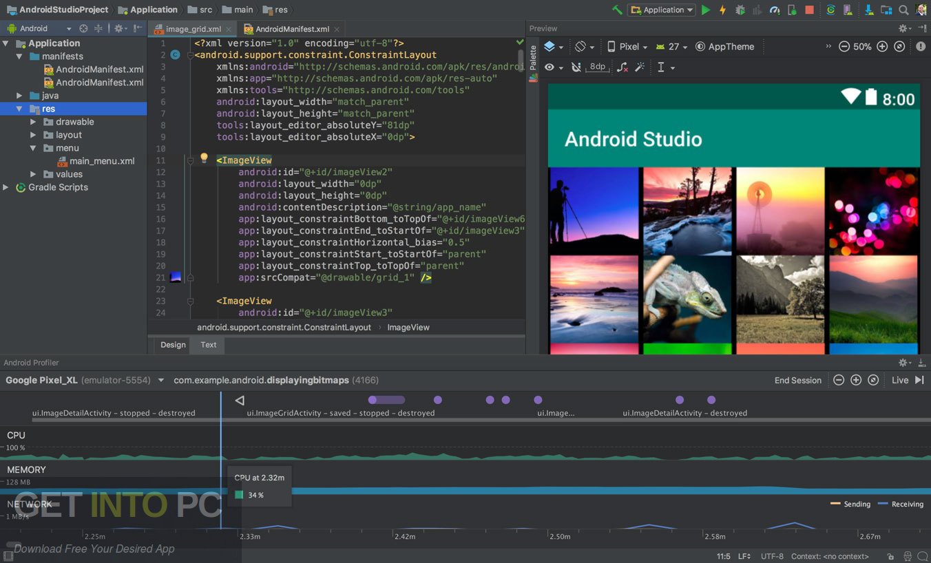 Android Studio 2019 Latest Version Download-GetintoPC.com