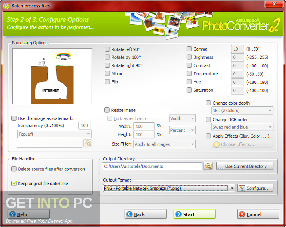 Ashampoo Photo Converter 2019 Direct Link Download-GetintoPC.com