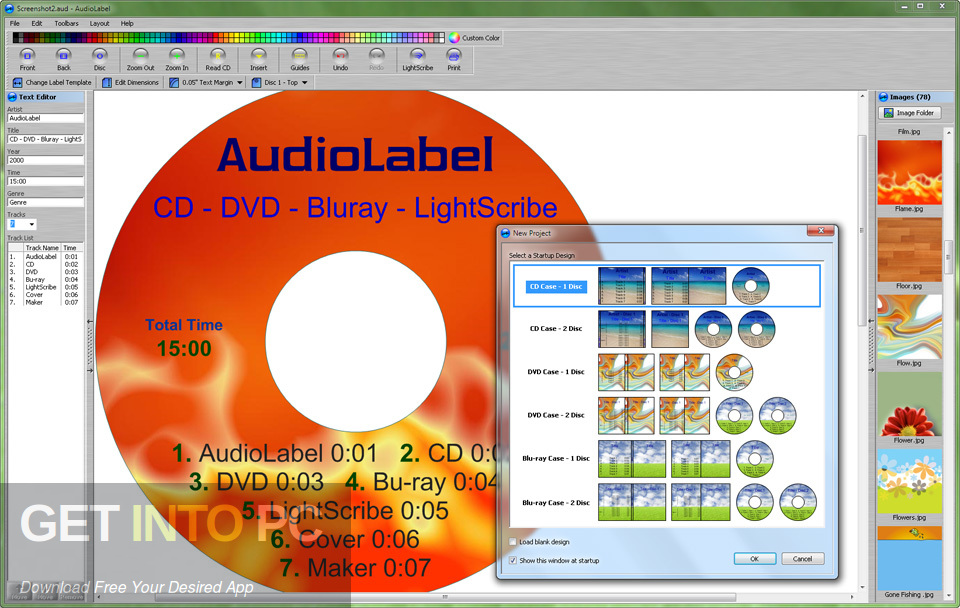 AudioLabel Cover Maker Direct Link Download-GetintoPC.com