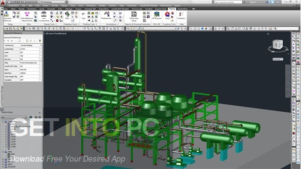 Bentley AutoPLANT Plant Design Direct Link Download-GetintoPC.com