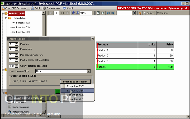 ByteScout PDF Multitool 2020 Direct Link Download