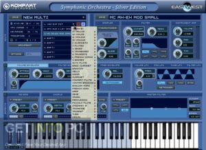 East West Symphonic Orchestra Silver Edition (KONTAKT) Offline Installer Download-GetintoPC.com