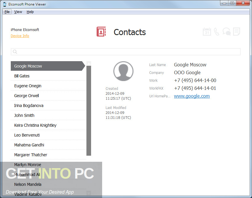 Elcomsoft Phone Viewer Forensic Latest Version Download-GetintoPC.com