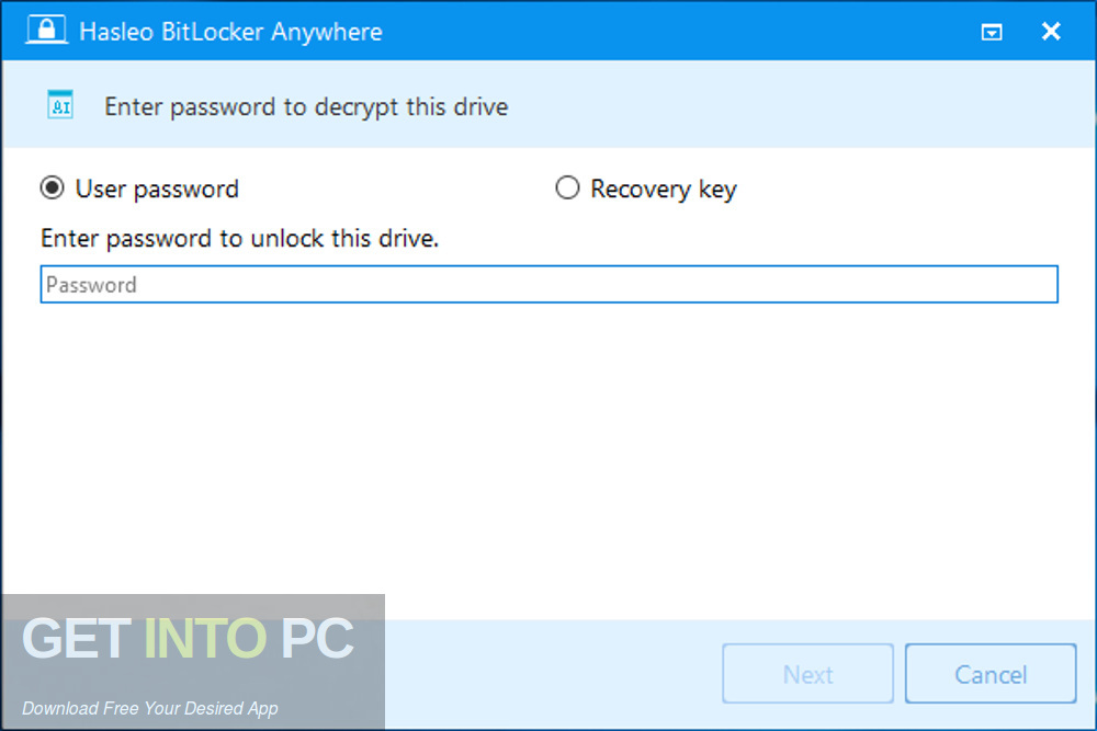 Hasleo BitLocker Anywhere Latest Version Download-GetintoPC.com