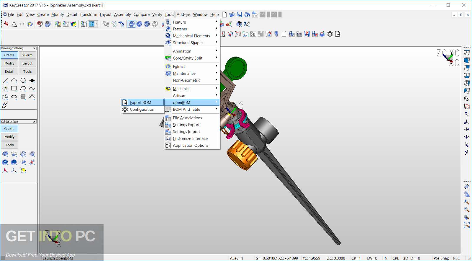 KeyCreator Direct CAD Cubicle 13.5.0 Latest Version Download-GetintoPC.com