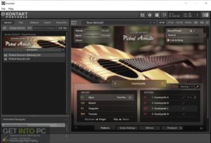 Native Instruments SESSION GUITARIST PICKED ACOUSTIC (KONTAKT) Free Download-GetintoPC.com