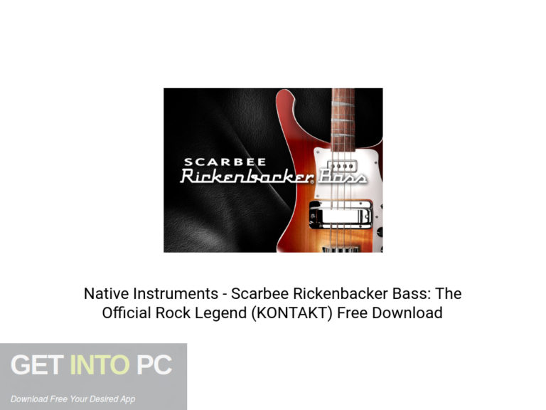 [PCソフト] Native Instruments – Scarbee Rickenbacker Bass