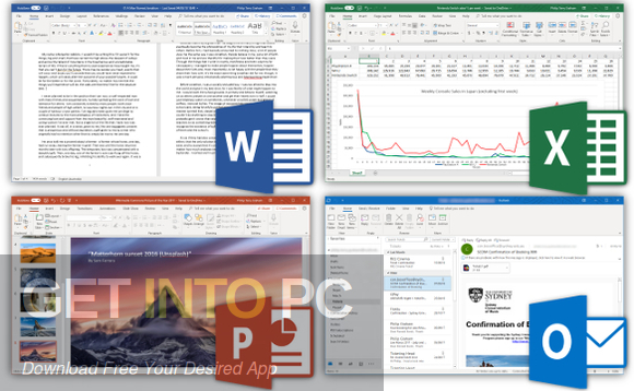 Office 2019 Retail Updated Sep 2019 Direct Link Download-GetintoPC.com