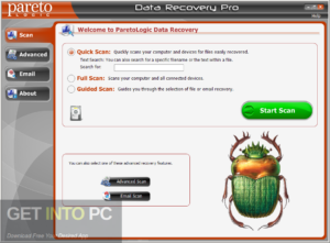 ParetoLogic Data Recovery Pro Free Download-GetintoPC.com