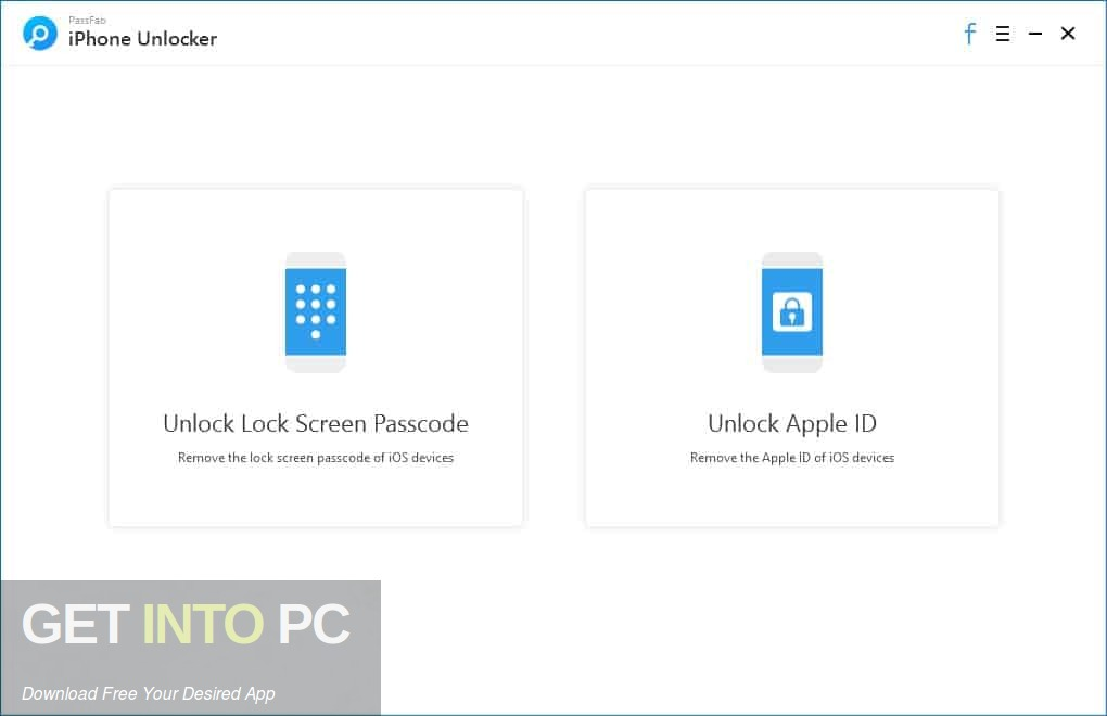 PassFab iPhone Unlocker Direct Link Download-GetintoPC.com