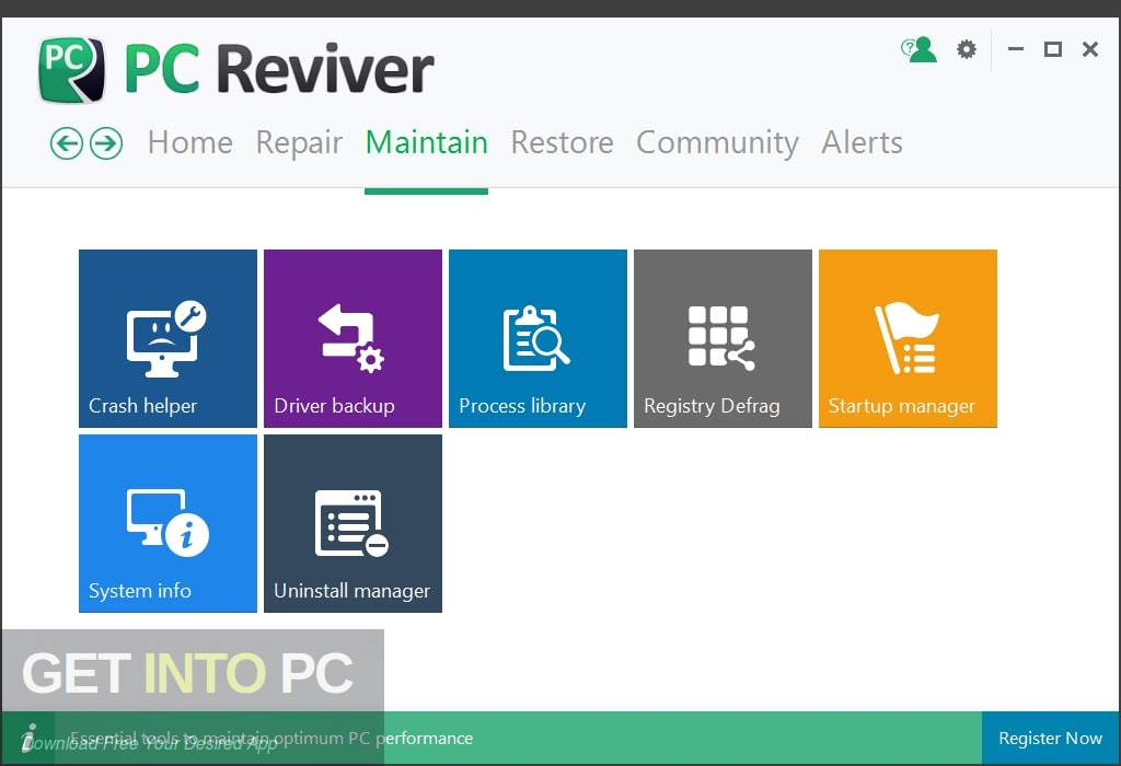 ReviverSoft PC Reviver 2019 Latest Version Download-GetintoPC.com
