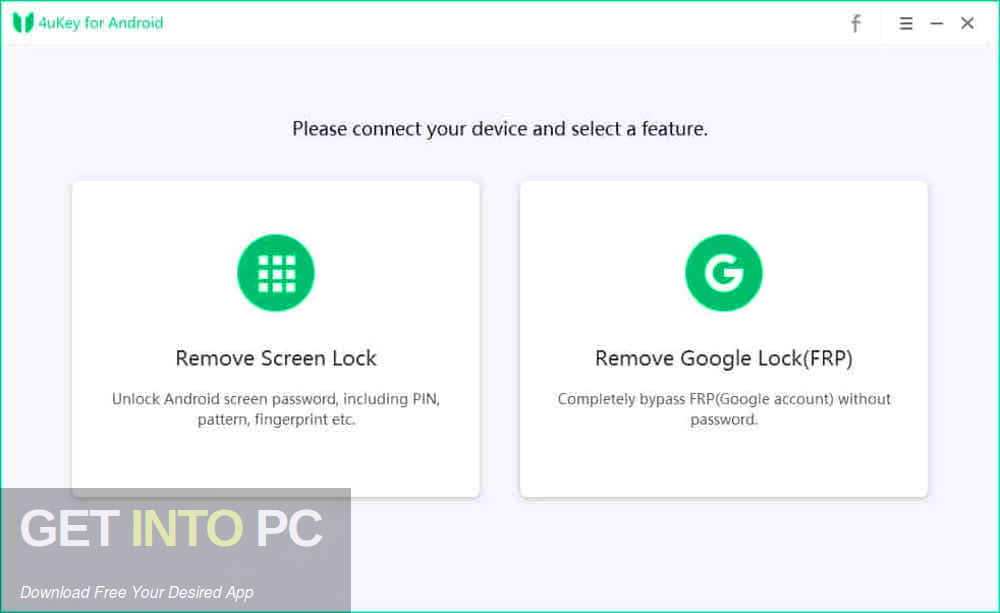 Tenorshare 4uKey Android Pro 2019 Offline Installer Download-GetintoPC.com