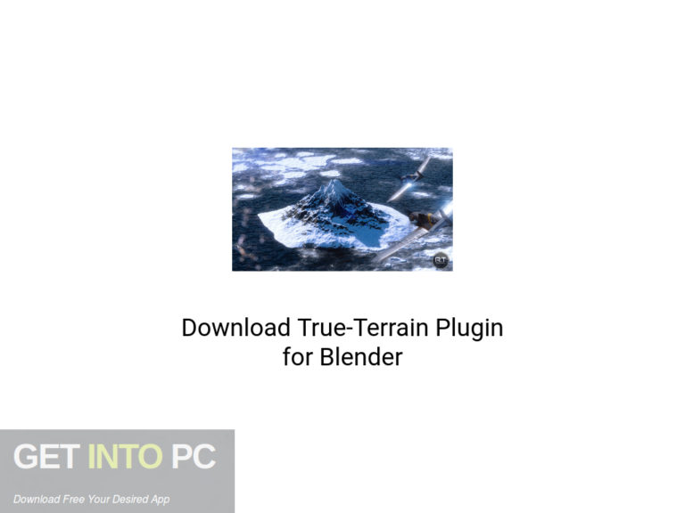 [PCソフト] True-Terrain Plugin for Blender