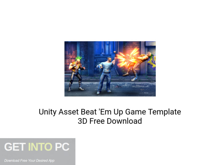 [PCソフト] Unity Asset Beat 'Em Up Game Template 3D