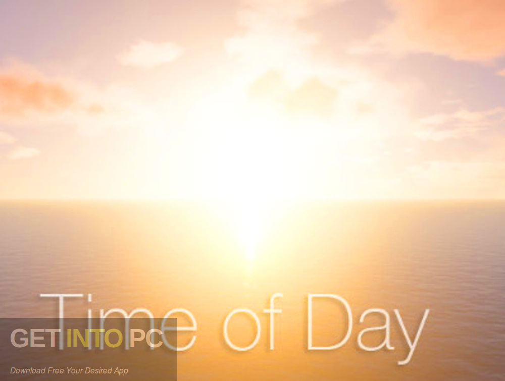 Unity Asset - Time of Day Free Download-GetintoPC.com