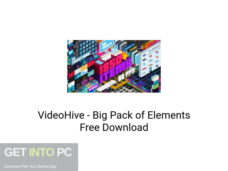 [PCソフト] VideoHive – Big Pack of Elements