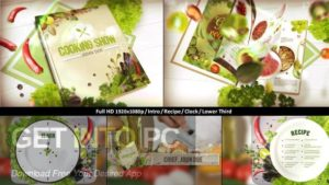 VideoHive Cooking TV After Effects Cook Broadcast Pack Offline Installer Download-GetintoPC.com