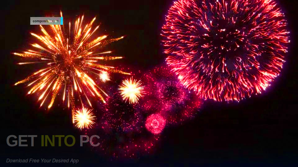 VideoHive - Editable Fireworks Package for After Effects Offline Installer Download-GetintoPC.com