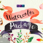VideoHive - Handwriting Watercolor Package for After Effects Free Download-GetintoPC.com