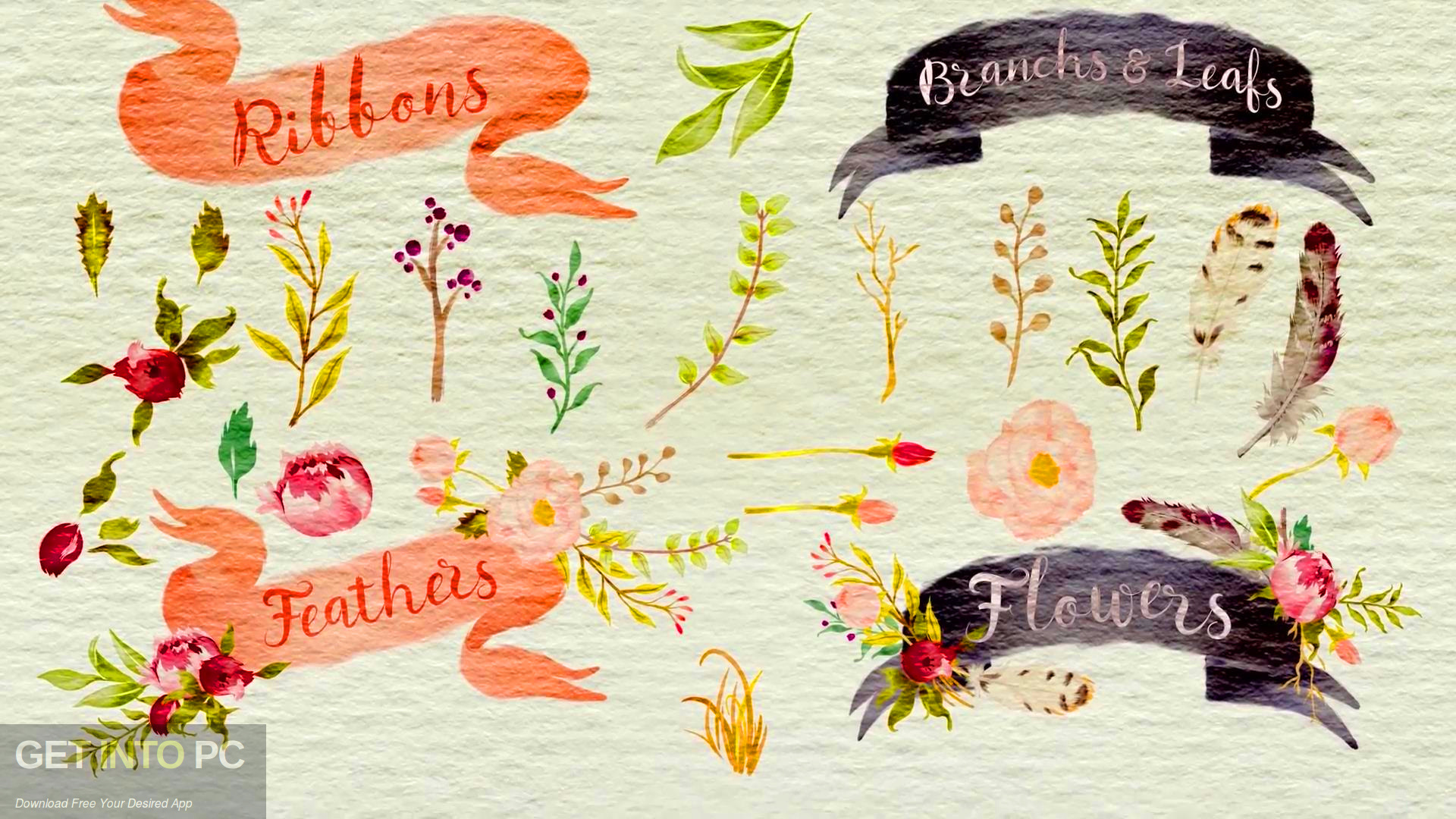 VideoHive - Handwriting Watercolor Package for After Effects Latest Version Download-GetintoPC.com