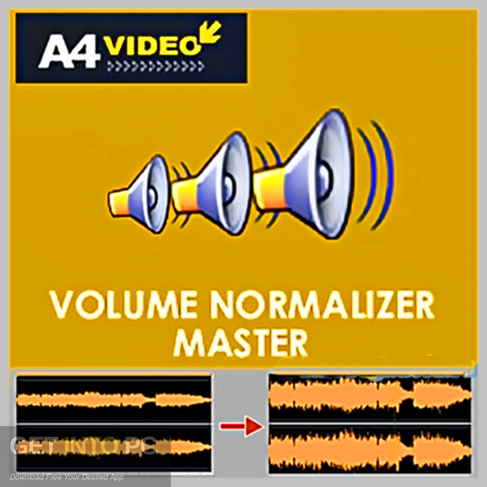 Volume Normalizer Master Free Download-GetintoPC.com