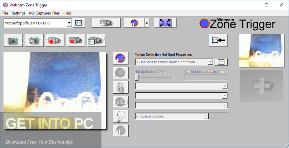 Webcam Zone Trigger Pro Latest Version Download-GetintoPC.com
